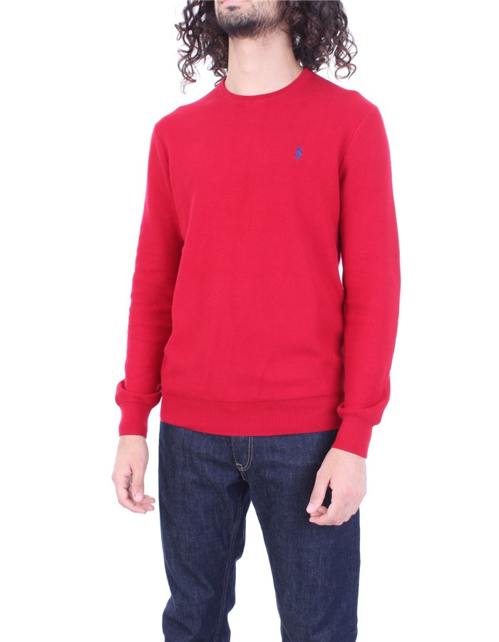 RALPH LAUREN Sweater red