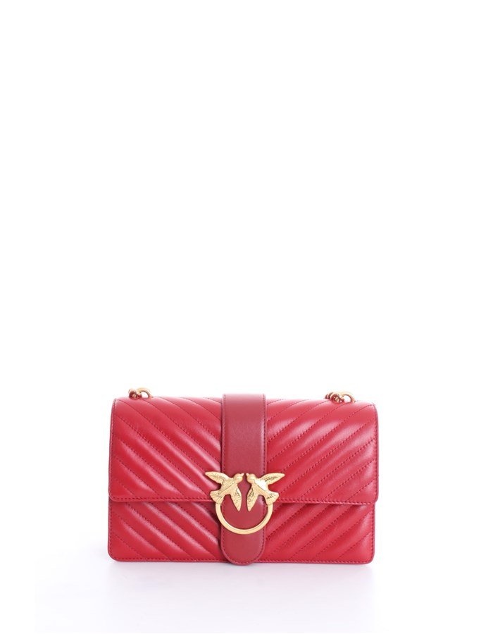 PINKO Shoulder Bags Rubi red