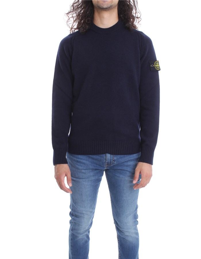 STONE ISLAND Knitwear Sweater 7315552A3 Blue