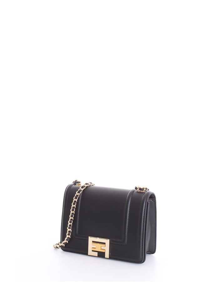 ELISABETTA FRANCHI Shoulder Bags Black