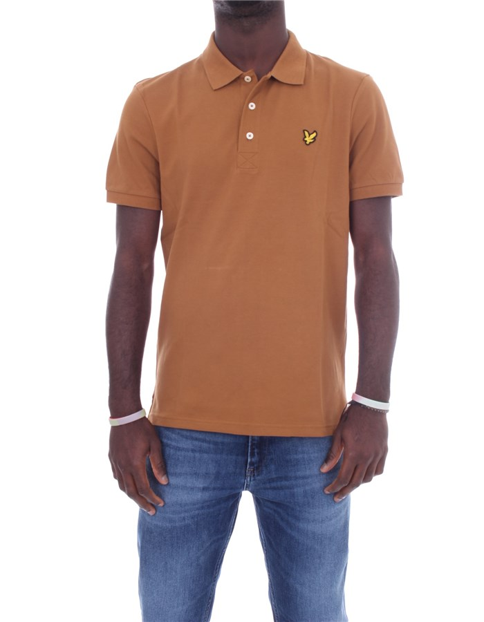 LYLE & SCOTT Vintage Short sleeves Brown