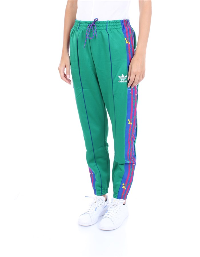 ADIDAS Trousers Green
