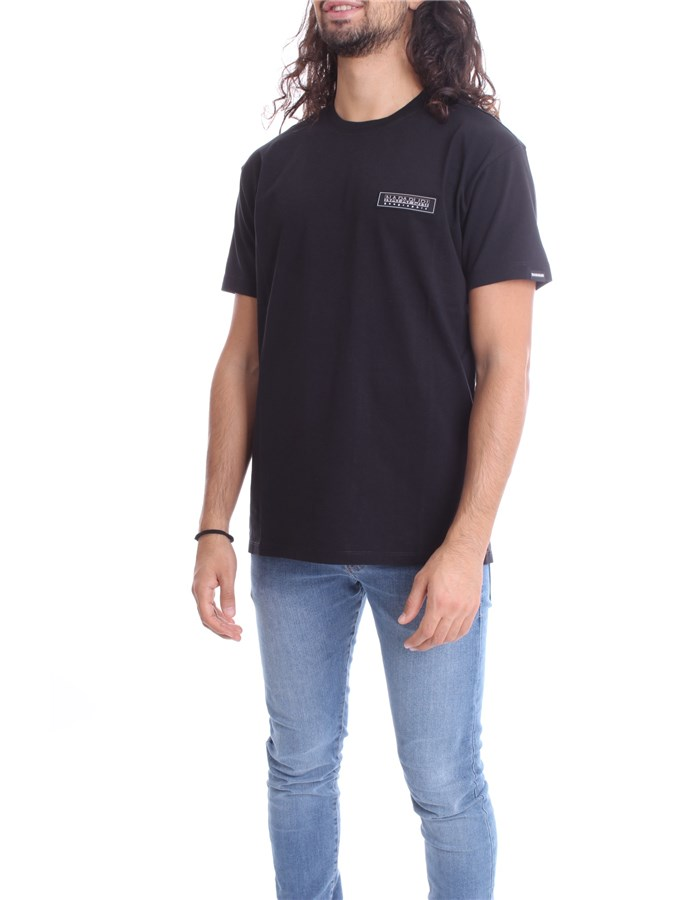 NAPAPIJRI Short sleeve Black