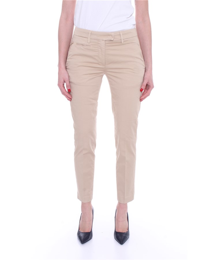 DONDUP Trousers Chino DP066 RSE036 Beige