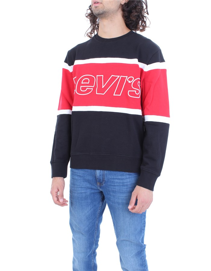 LEVI'S Sweatshirt Black