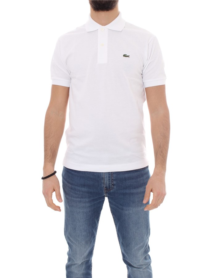 LACOSTE T-shirt Short sleeve 1212 White