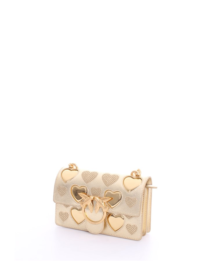 PINKO Shoulder Bags Gold