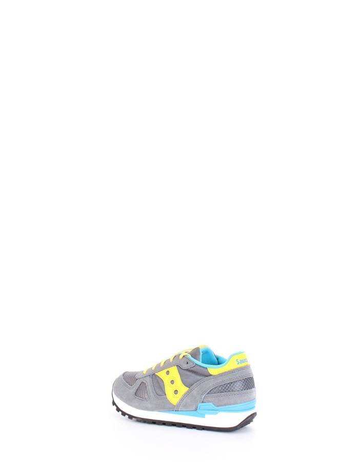 SAUCONY Sneakers Gray yellow blue