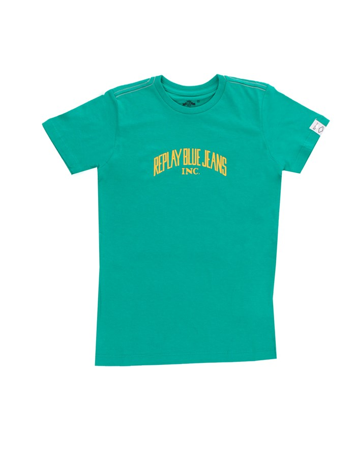 REPLAY KIDS Short sleeve Green