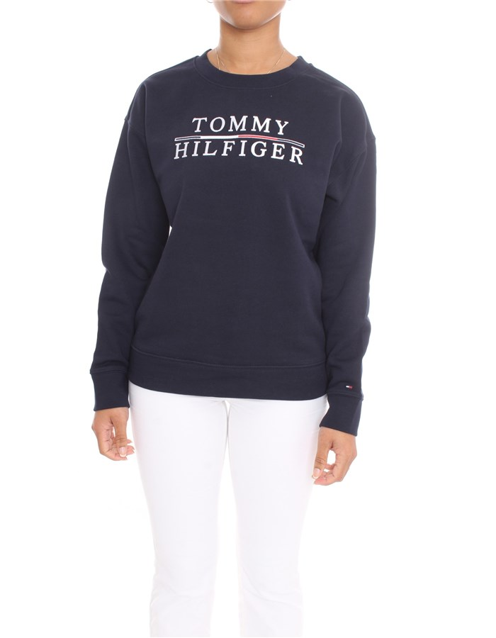 TOMMY HILFIGER Sweatshirt Blue