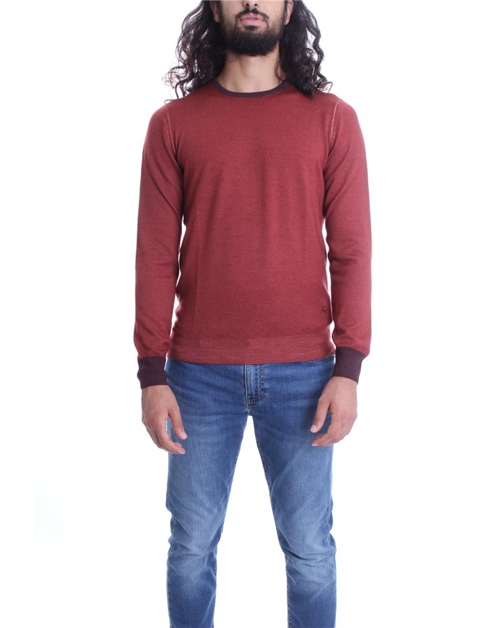 FAY Sweater Brick