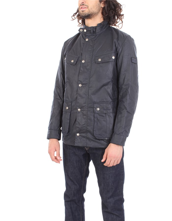 BARBOUR Coat Blue