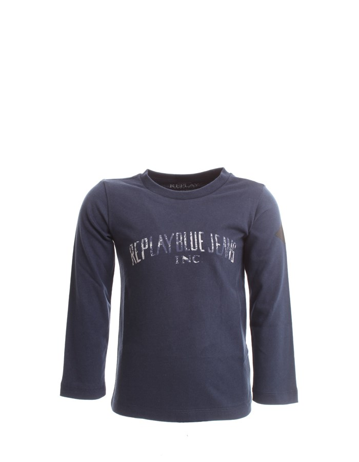 REPLAY Long sleeve Blue