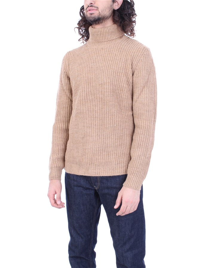 6DUEQUATTROPM Sweater Camel