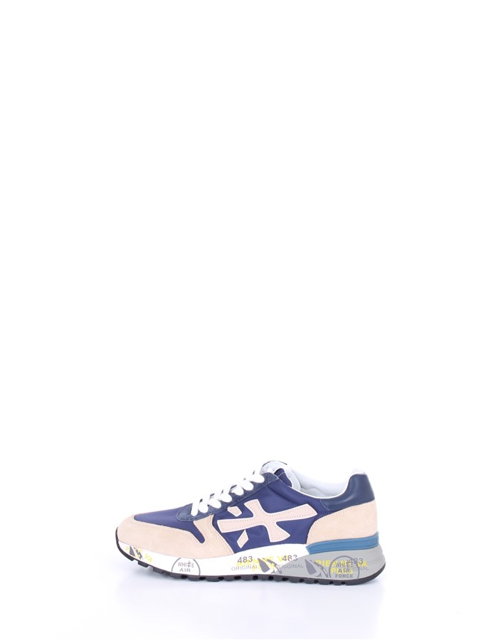 PREMIATA  low Beige blue