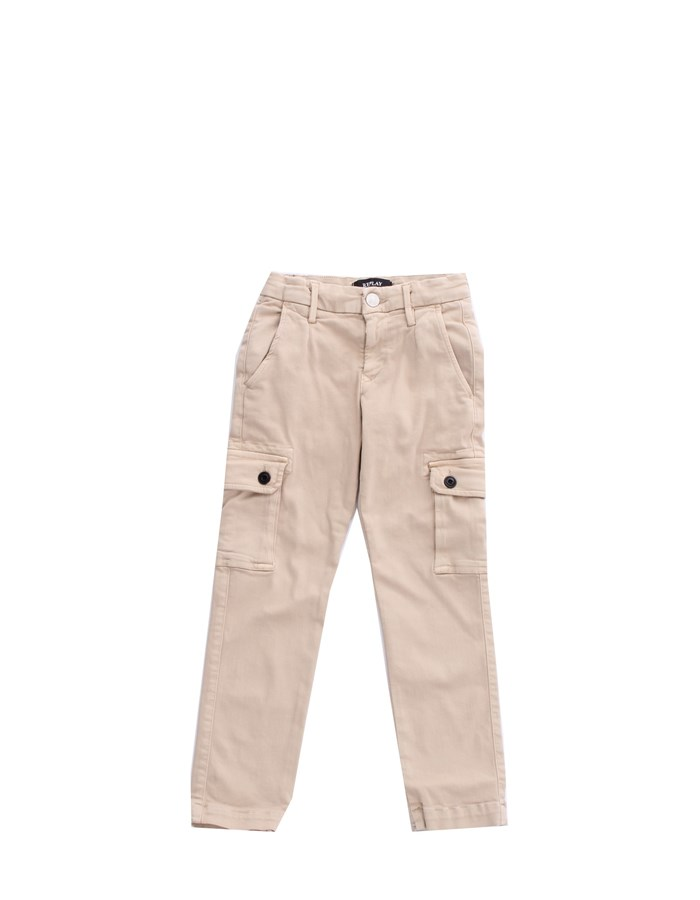 REPLAY KIDS Trousers Cargo SB9020 051 Sand