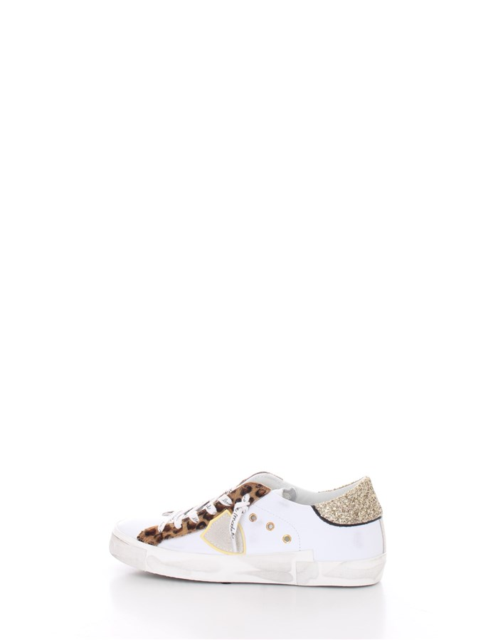 PHILIPPE MODEL Trainers Leopard white