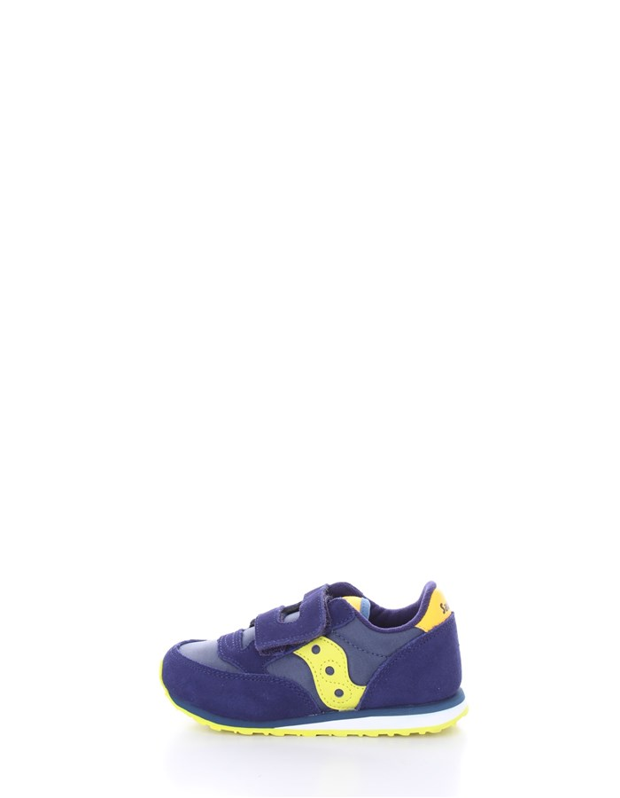 SAUCONY  low Yellow blue