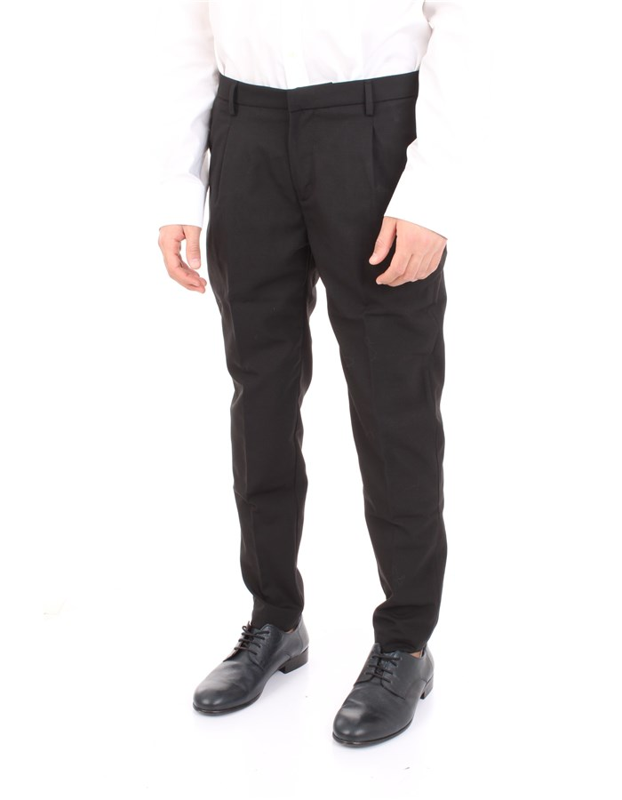 YAN SIMMONS Trousers Black