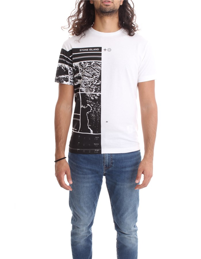 STONE ISLAND T-shirt Short sleeve Men 73152NS87 0