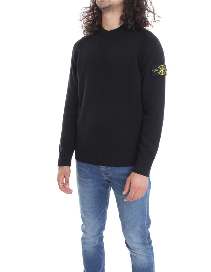 STONE ISLAND Sweater Black