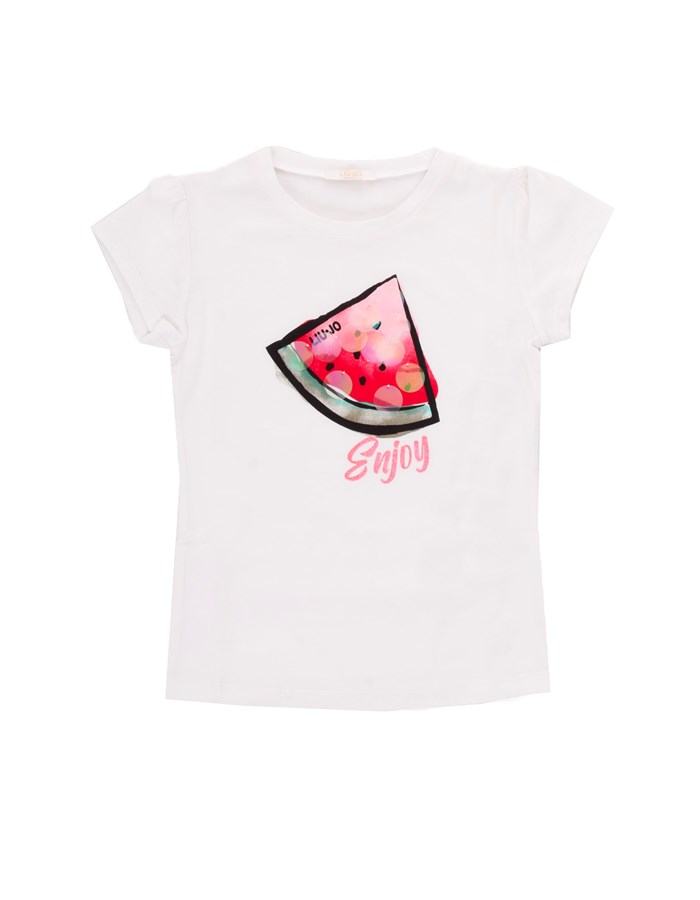 LIU JO T-shirt White watermelon