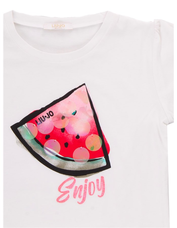 LIU JO T-shirt Short sleeve Girls KA1125 J5003 1
