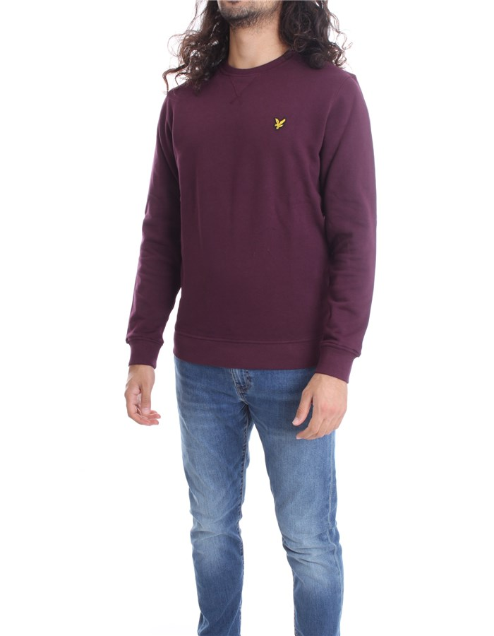 LYLE & SCOTT Vintage Crewneck  Bordeau