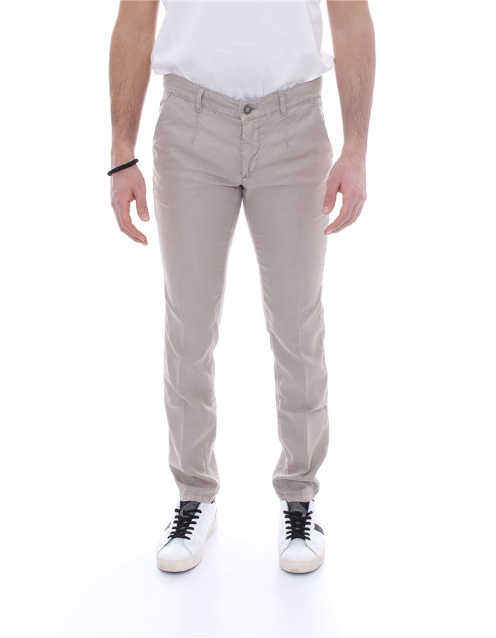 ALESSANDRO DELL'ACQUA Trousers Regular AD7107WAP P0070LT Beige