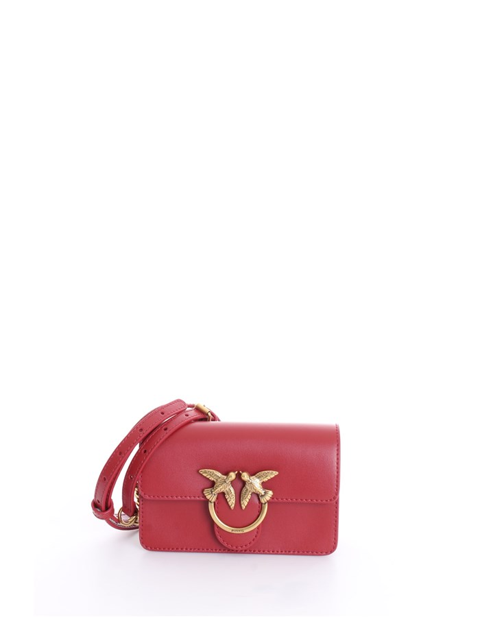 PINKO Shoulder Bags Red