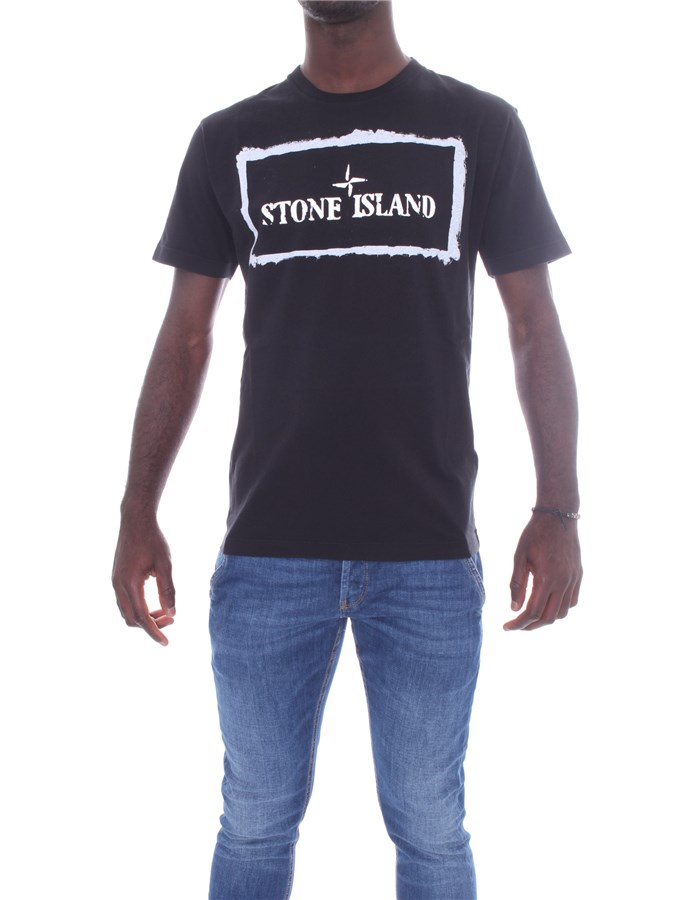 STONE ISLAND T-shirt Short sleeve 74152NS80 Black