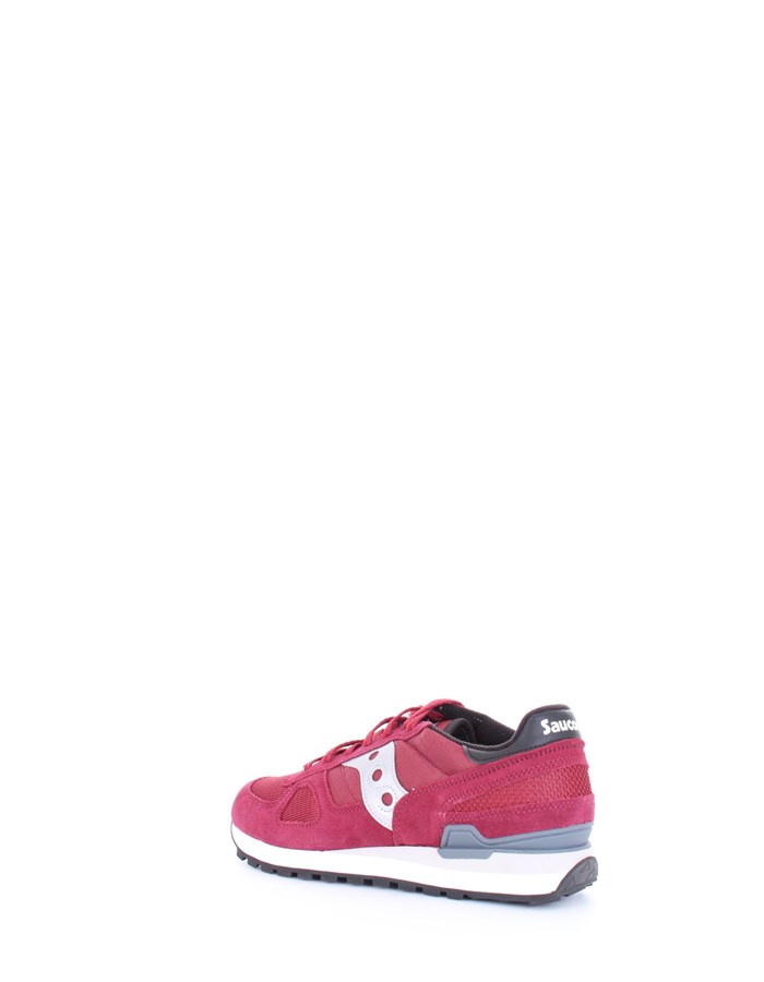 SAUCONY Sneakers Burgundy black