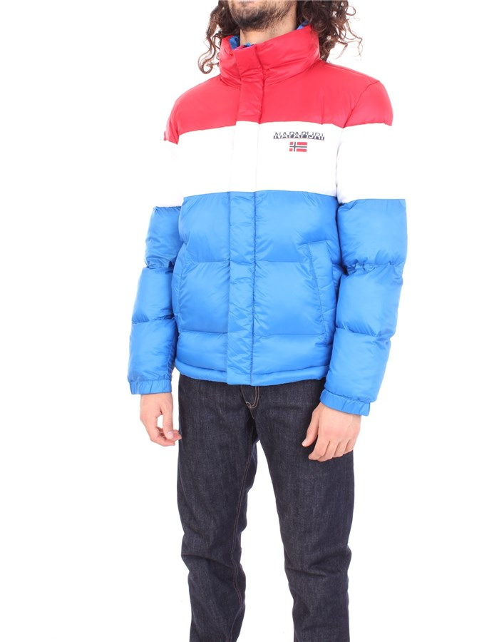 NAPAPIJRI Coat Red blue