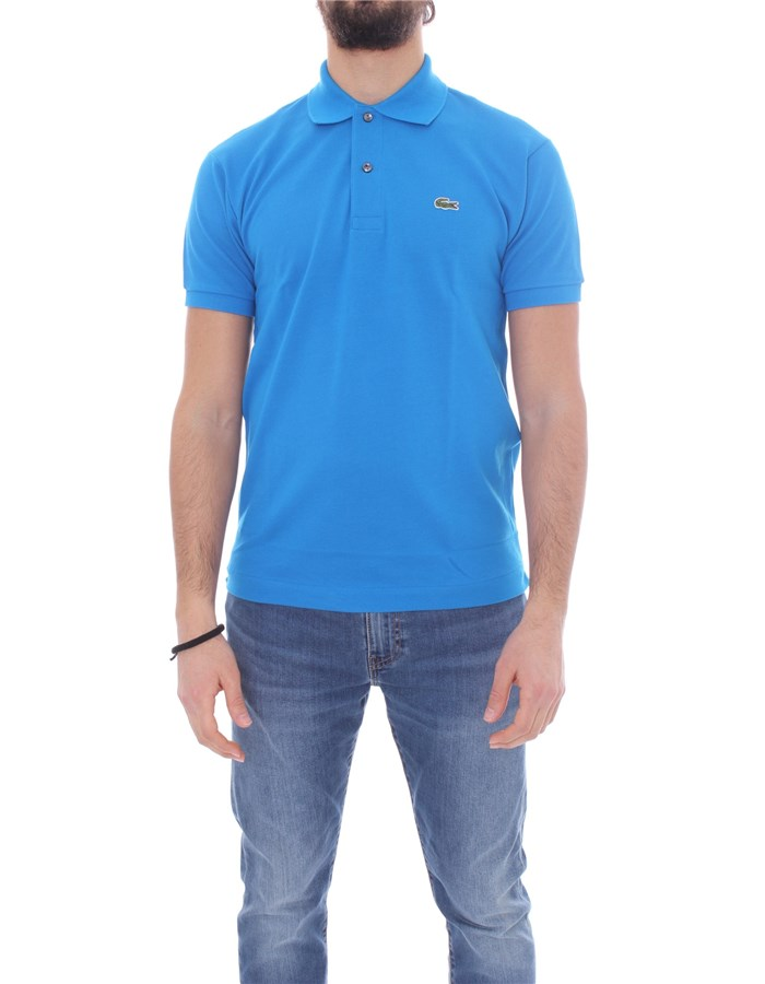 LACOSTE T-shirt Short sleeve 1212 Ultramarine