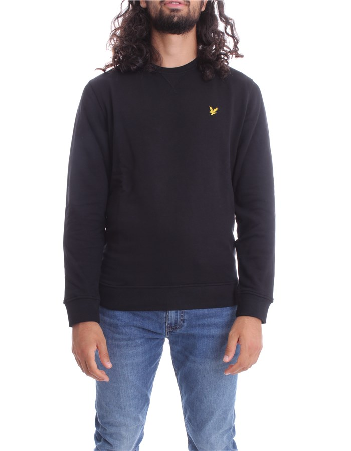 LYLE & SCOTT Vintage Sweatshirts Crewneck  ML424VTR Black