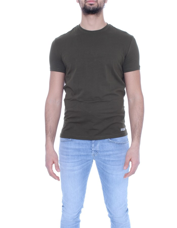 DSQUARED2 Short sleeve Military