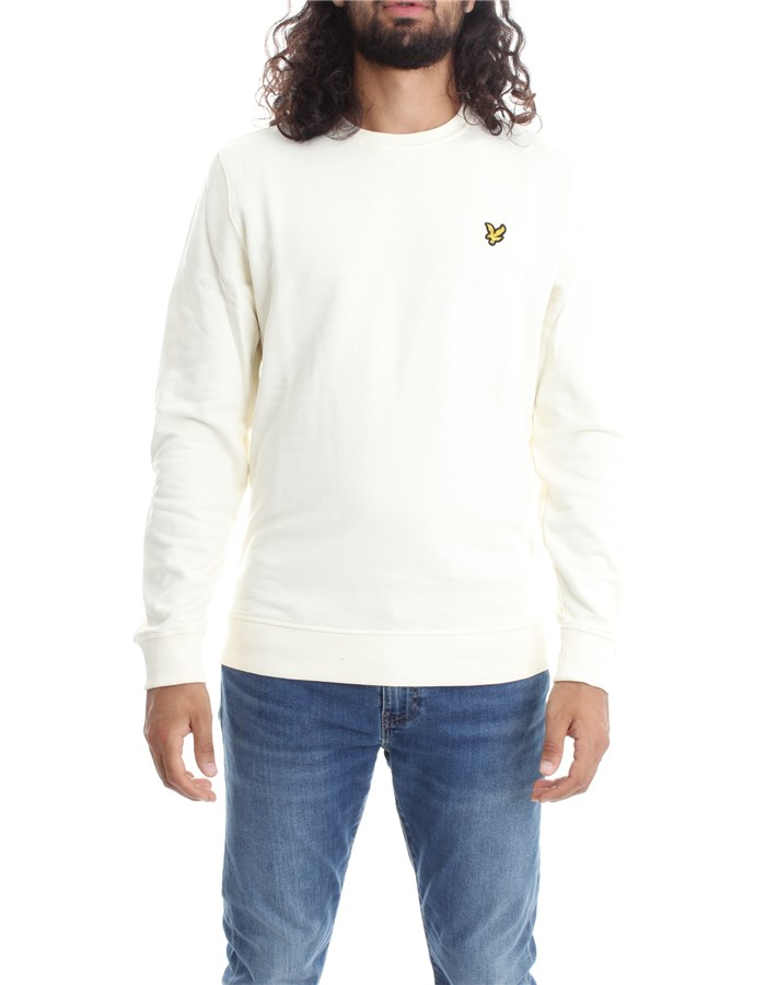LYLE & SCOTT Vintage Sweatshirts Crewneck  ML424VTR Milk
