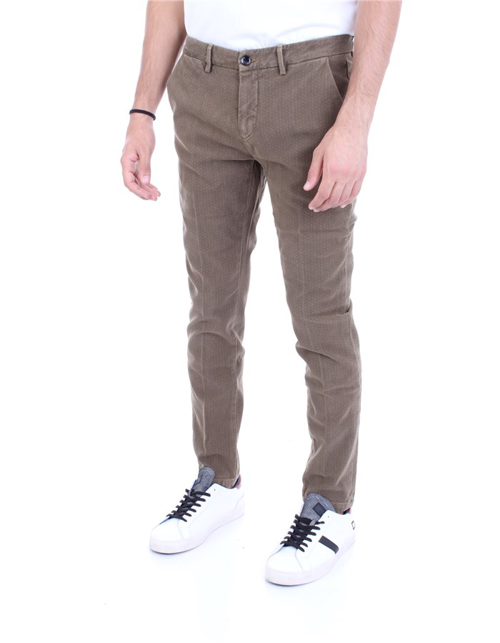 YAN SIMMONS Trousers Mud
