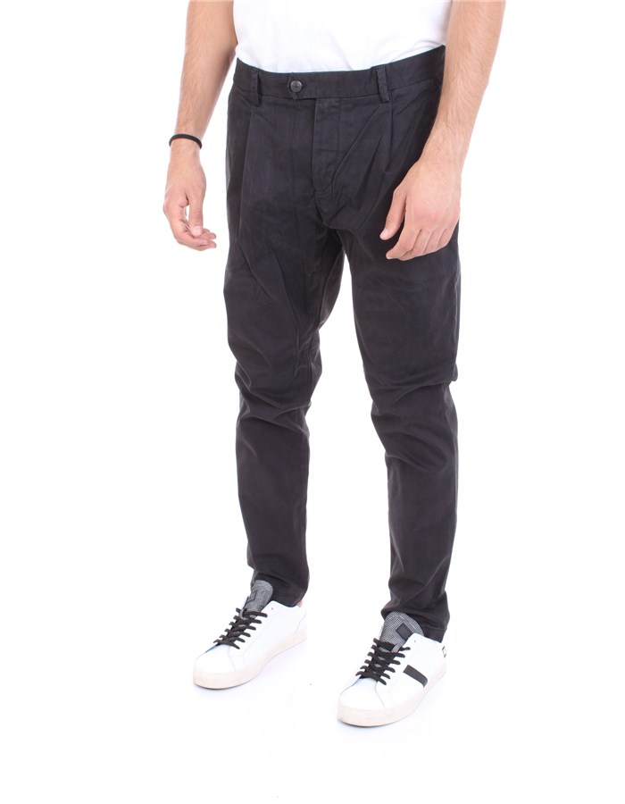 REPLAY Trousers Black