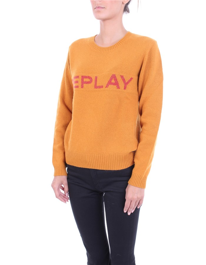 REPLAY Sweater Orange