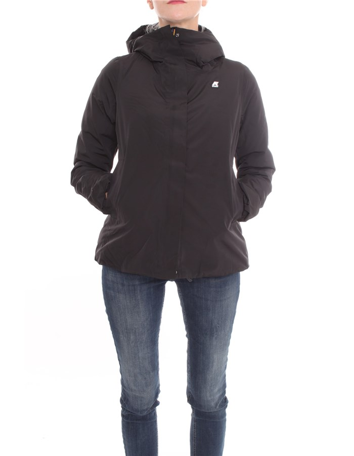 KWAY Jackets Short Women K007HD0 W 0