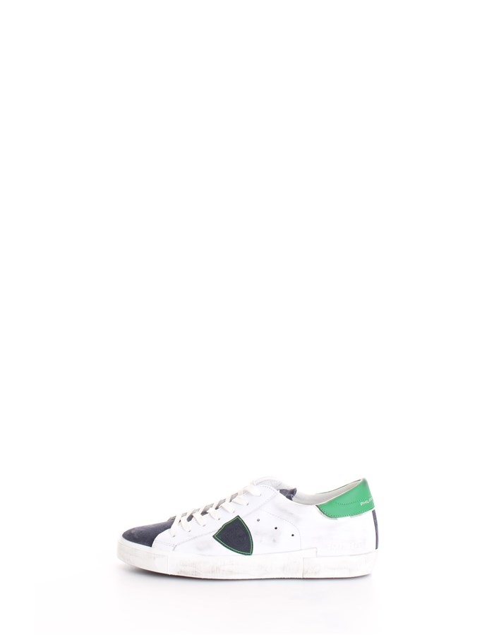 PHILIPPE MODEL Trainers White blue green