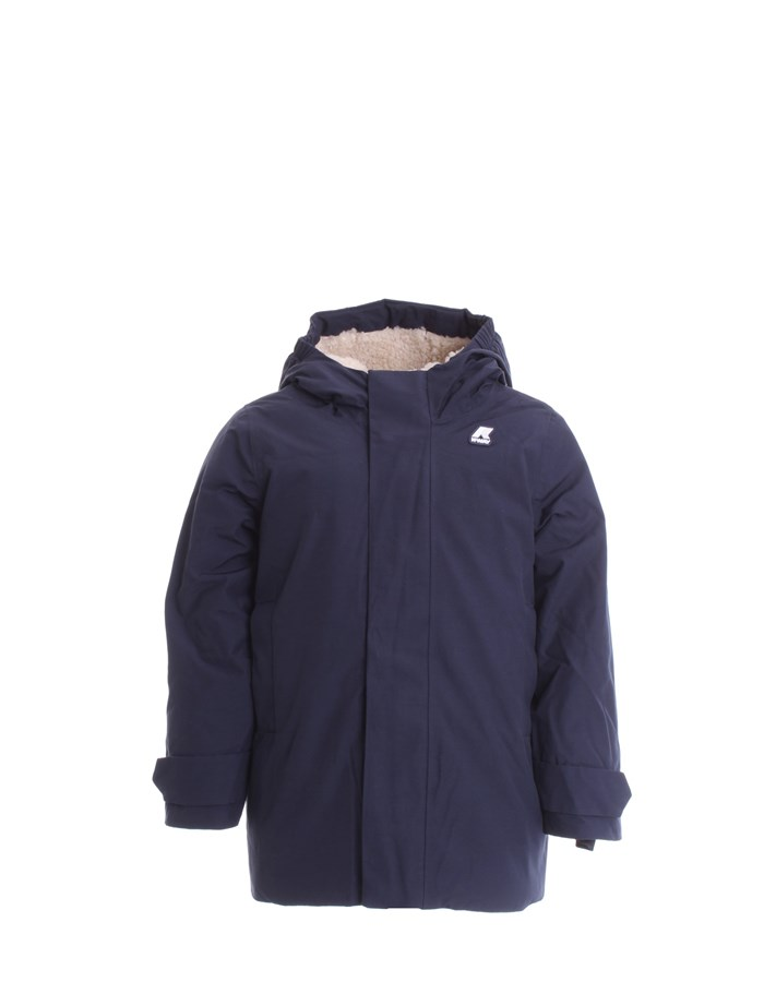 KWAY Jackets Long K1119UW Blue depth