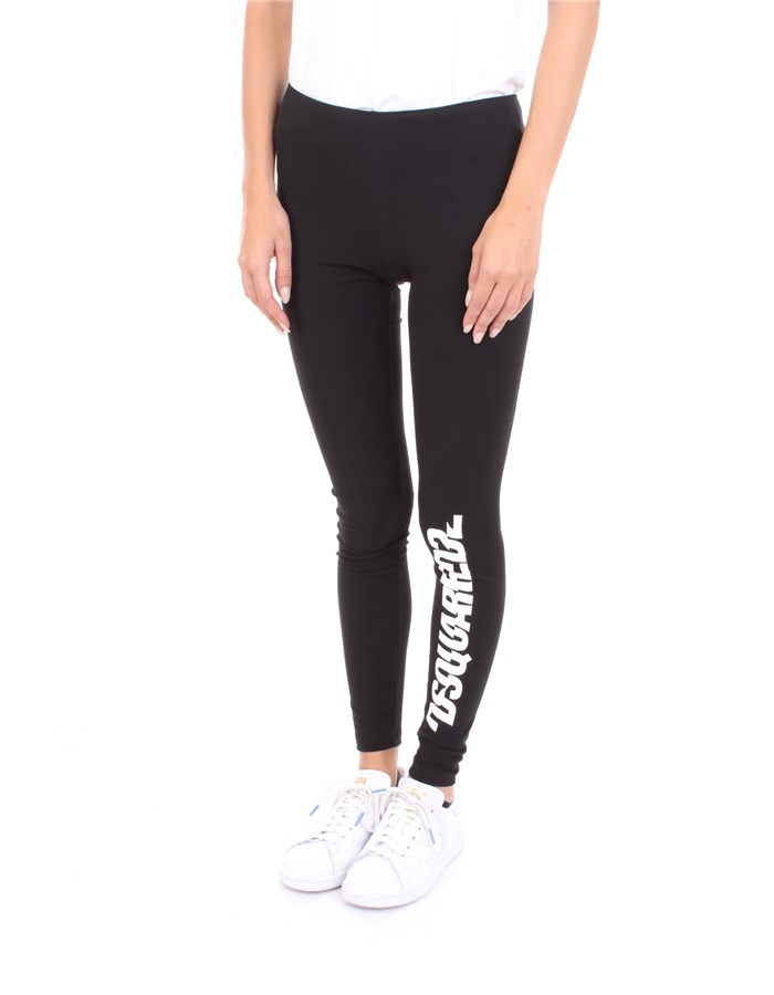 DSQUARED2 Leggings Black