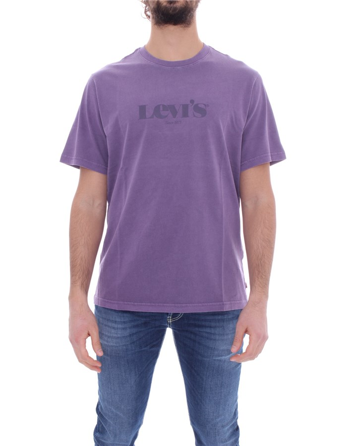LEVI'S T-shirt Short sleeve 16143 Violet