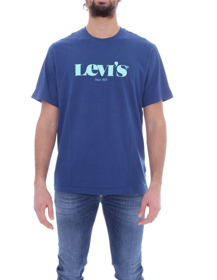 LEVI'S Short sleeve Royal
