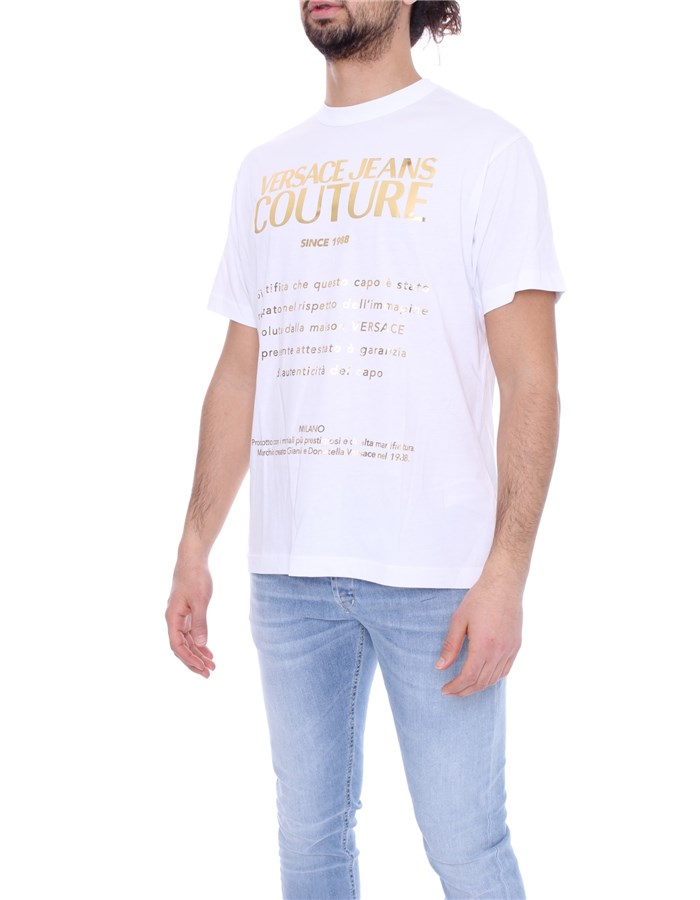 VERSACE Short sleeve White