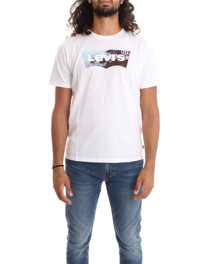 LEVI'S Short sleeve White cliff