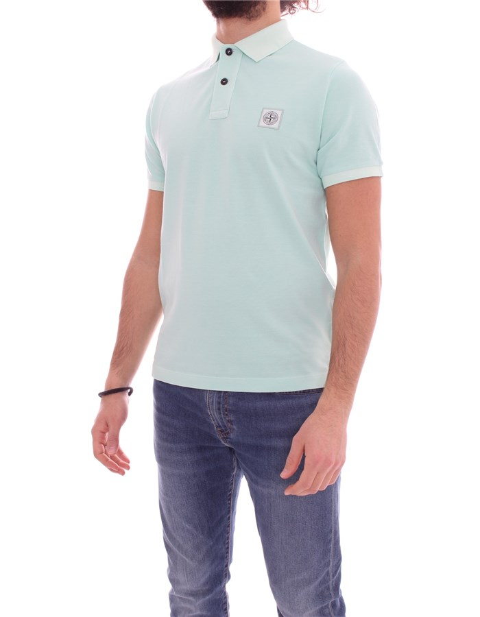 STONE ISLAND Short sleeves water