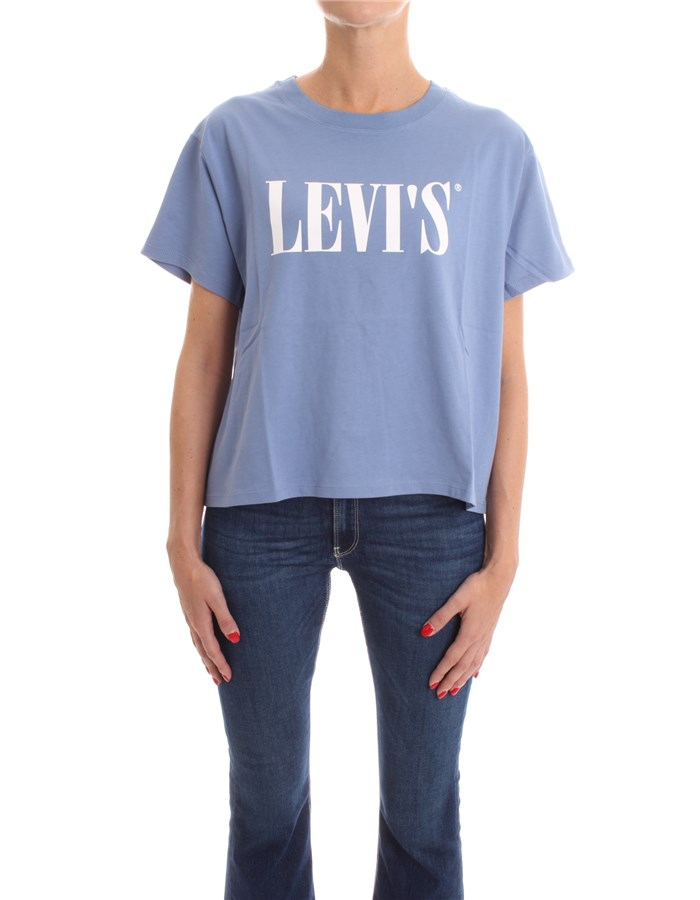 LEVI'S T-shirt Short sleeve 69973 Avio